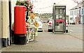 C9440 : Pillar box and telephone box, Bushmills by Albert Bridge