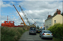 TA0623 : The Approach to Old Ferry Wharf by David Wright