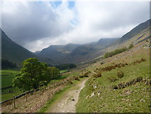 NY3715 : Grisedale path by Alan O'Dowd