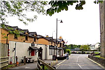 R4560 : Bunratty - West Side of Durty Nelly's Pub - View to South by Suzanne Mischyshyn