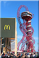 TQ3784 : Orbit and McDonald's, Olympics Park by Oast House Archive