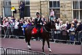 SD5429 : Preston Guild Trades Procession 2012 (003) - Lancashire Constabulary mounted police officer by P L Chadwick
