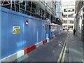 TQ3381 : Bury Street London looking towards Bevis Marks by Steve  Fareham