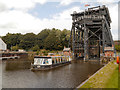 SJ6475 : River Weaver, Anderton Boat Lift by David Dixon