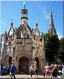 SU8604 : Market Cross, Chichester by Len Williams