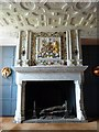 NT2573 : Edinburgh Castle - Fireplace in Royal apartments by Rob Farrow