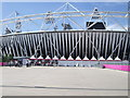 TQ3784 : Olympic Stadium bridge B by Paul Gillett