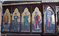 TQ8109 : War Memorial, Holy Trinity church, Hastings by Julian P Guffogg