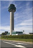 TL5523 : Control tower, Stansted Airport by Paul Harrop