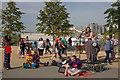TQ3784 : Poet, Olympic Park, September 2012 by Julian Osley