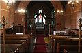 TF3927 : Interior, St Luke's church, Holbeach Hurn by J.Hannan-Briggs