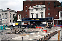 SD8913 : Rochdale Town Centre:  The 'Regal Moon' by Dr Neil Clifton