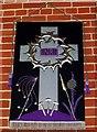 TQ3616 : Lenten banner, All Saints, Plumpton Green by nick macneill