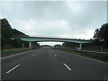 SD4953 : Whams Lane Road Bridge from the M6 by Anthony Parkes