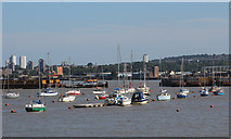 TQ3979 : River Thames at Bugsby's Reach by Oast House Archive