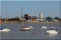 TQ3979 : Bugsby's Reach, River Thames by Oast House Archive