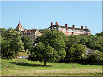 TQ1873 : The Petersham and the Royal Star and Garter Home by Robin Webster