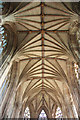 SK1109 : Lady Chapel vaulting by Richard Croft