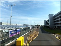 NT1473 : Jubilee Road at Edinburgh Airport by David Smith