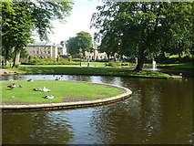 SK0573 : Pavilion Gardens, Buxton by Ruth Sharville