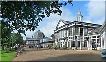 SK0573 : Buxton Pavilion buildings by Ruth Sharville