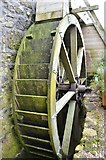 SW4538 : Zennor Mill - Waterwheel by Ashley Dace