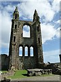 NO5116 : St Andrews Cathedral - eastern front remains by Rob Farrow