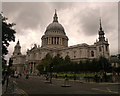 TQ3281 : St Paul's Cathedral by Steven Haslington