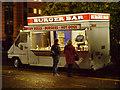 SJ8195 : Burger Bar at Old Trafford by David Dixon