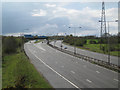 SP2086 : M6 east of junction 4 looking west by Robin Stott