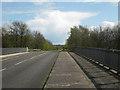 SP2086 : Packington Lane crosses M6 looking south  by Robin Stott