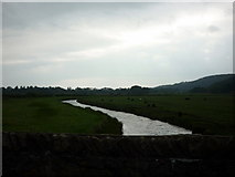 SD1196 : The River Esk from Muncaster Bridge by Ian S
