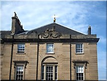 NT2473 : Roofline in Charlotte Square by David Smith