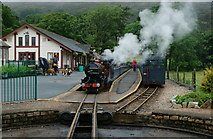 NY1700 : River Mite Arrives at Dalegarth Station by Peter Trimming