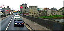 R5757 : Limerick - Bridge Street, King John's Castle, River Shannon by Suzanne Mischyshyn