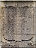 TQ1649 : War Memorial Inscription, St Martin's Churchyard by David Dixon