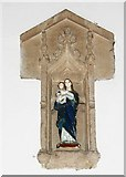 TL8866 : Holy Innocents, Great Barton - Niche by John Salmon