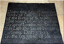 TL8866 : Holy Innocents, Great Barton - Ledger slab by John Salmon