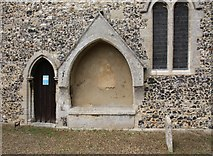TL8866 : Holy Innocents, Great Barton - Recessed tomb by John Salmon