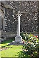 TL9971 : St Mary, Walsham le Willows - Memorial cross by John Salmon