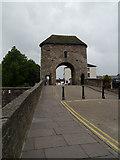 SO5012 : Monnow Bridge, Monmouth by David Dixon