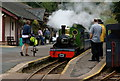 NY1700 : 'River Irt' Arrives at Dalegarth Station by Peter Trimming