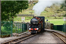 NY1700 : 'River Mite' Arrives at Dalegarth Station by Peter Trimming