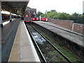 ST2225 : Buffer stops, platform 6, Taunton railway station by Jaggery