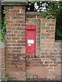SK7851 : Hawton postbox (ref. NG24 44)  by Alan Murray-Rust
