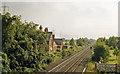 SE6425 : Carlton station (remains), 1988 by Ben Brooksbank