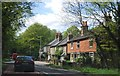 TQ4165 : Row of Cottages, Hayes Common by N Chadwick