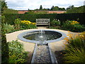 NU1913 : The Alnwick Garden : A Private Circle In The Walled Garden by Richard West