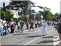SU7072 : Olympic torch on Castle Hill, Reading by Chris Wood