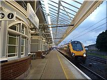 NT9953 : Berwickshire Architecture : Berwick Railway Station by Richard West